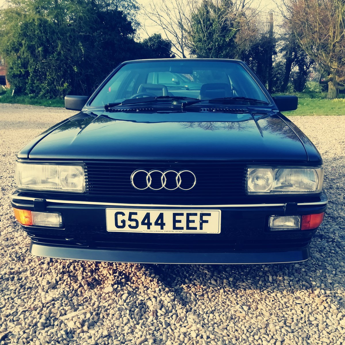 Rare  RR 20v ur quattro turbo panther Black 1990 For Sale (picture 6 of 6)