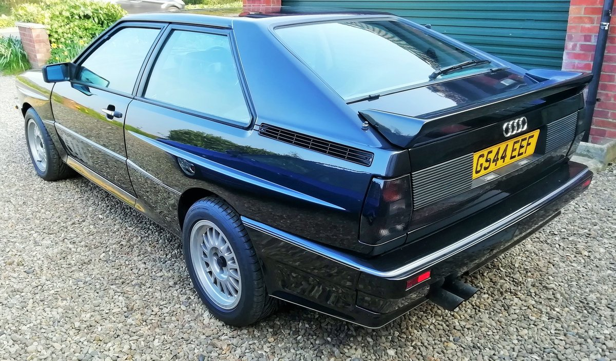 Rare  RR 20v ur quattro turbo panther Black 1990 For Sale (picture 3 of 6)