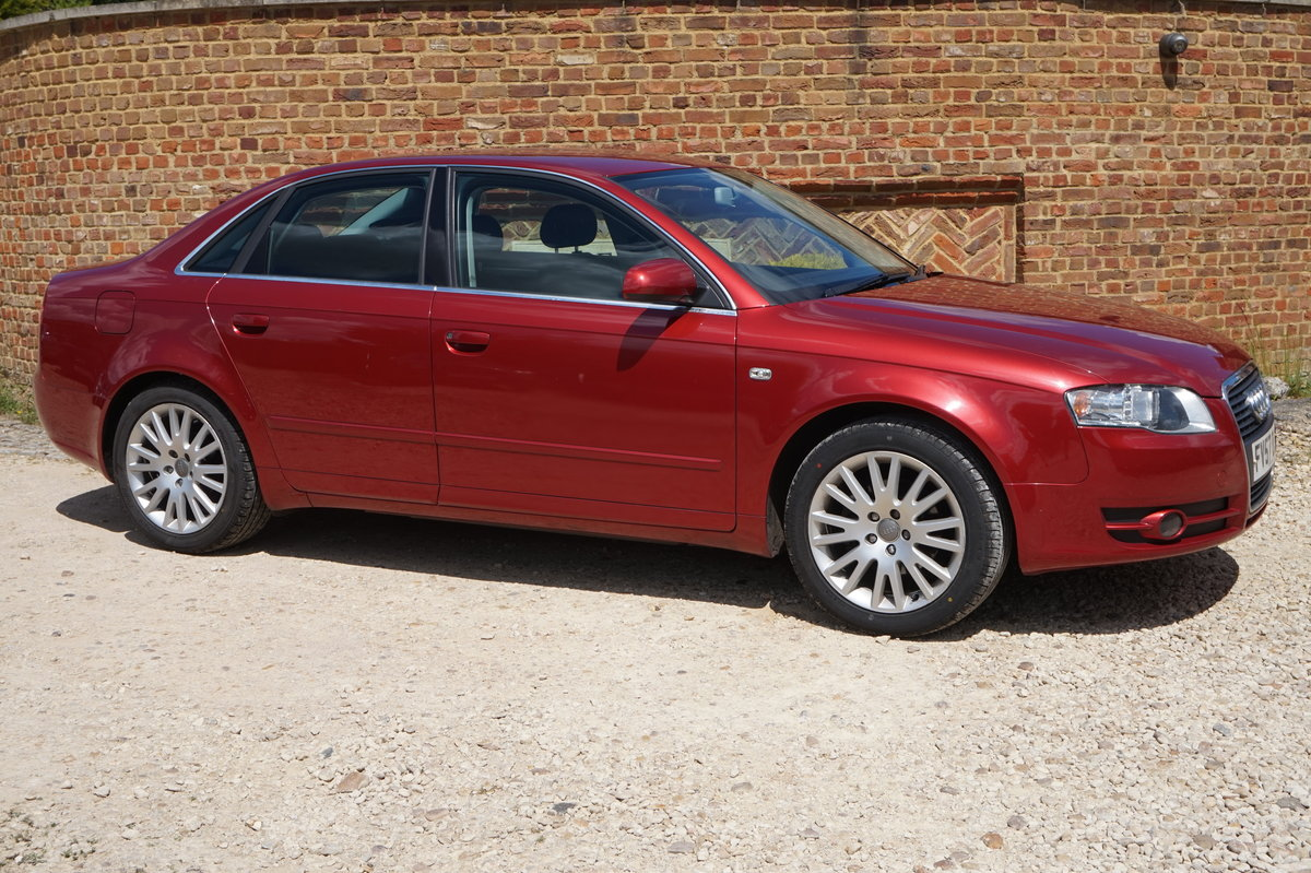 AUDI A4 SALOON 1.9 TDI DIESEL MANUAL 2007/57 For Sale (picture 1 of 6)