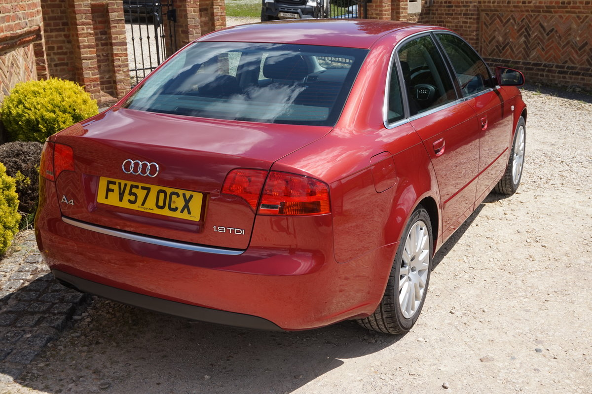 AUDI A4 SALOON 1.9 TDI DIESEL MANUAL 2007/57 For Sale (picture 3 of 6)