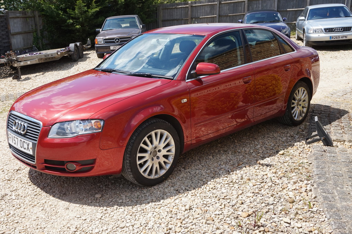 AUDI A4 SALOON 1.9 TDI DIESEL MANUAL 2007/57 For Sale (picture 4 of 6)