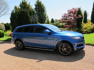 2012 Audi Q7 3.0TDI S-Line (*Pano Roof, 7 Seats, Tech Pack*) For Sale