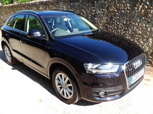 2012 Audi Q3 2.0 TDi quattro SE 177 BHP £5000 Options - Low Miles
