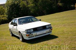 1986 Audi Quattro 2.2L 10v