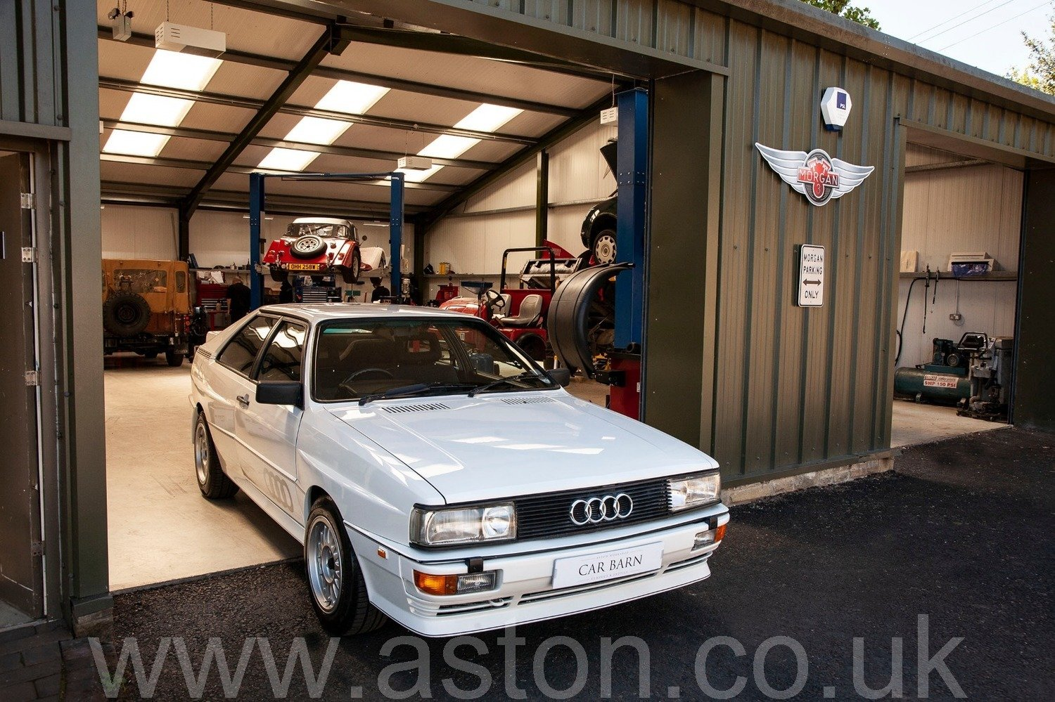 1986 Audi Quattro 2.2L 10v For Sale (picture 2 of 6)