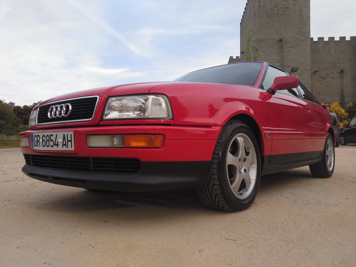 1995 Audi Coupe Coupé 2.6. A.A. only 2.600km!!!!!!!!!!!!!!!!!!! For Sale (picture 1 of 6)