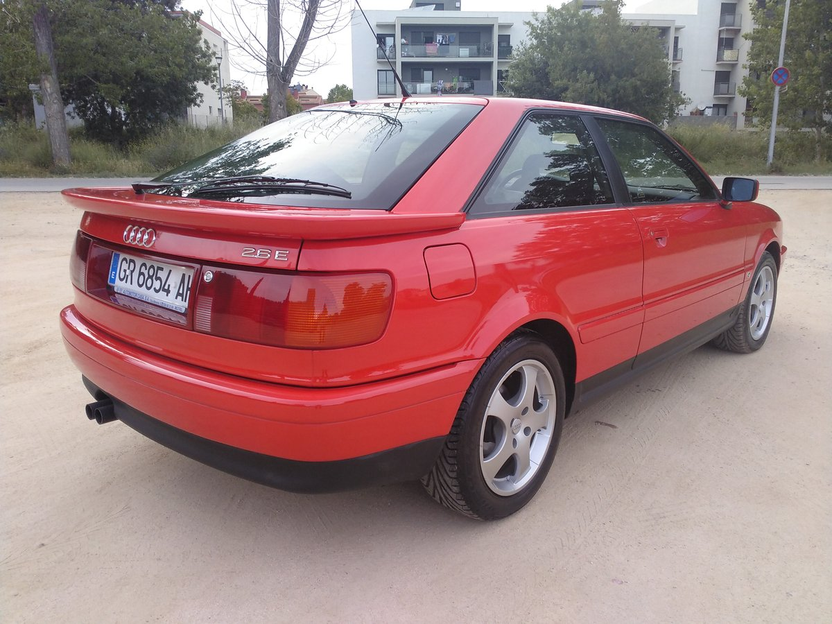 1995 Audi Coupe Coupé 2.6. A.A. only 2.600km!!!!!!!!!!!!!!!!!!! For Sale (picture 2 of 6)