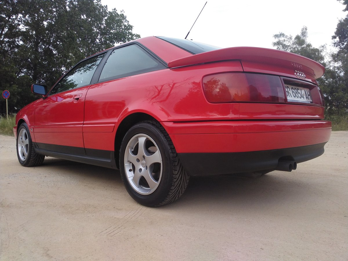 1995 Audi Coupe Coupé 2.6. A.A. only 2.600km!!!!!!!!!!!!!!!!!!! For Sale (picture 3 of 6)