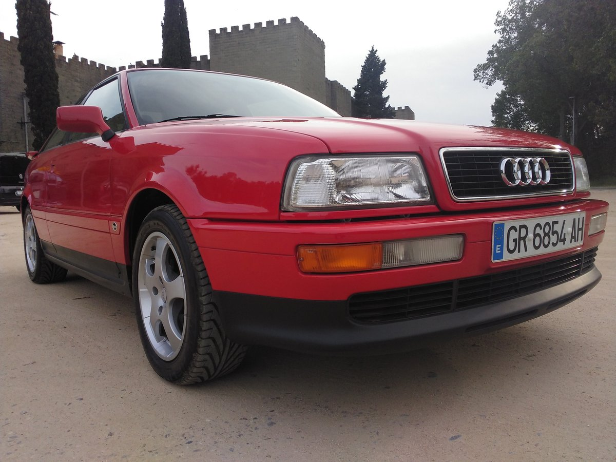 1995 Audi Coupe Coupé 2.6. A.A. only 2.600km!!!!!!!!!!!!!!!!!!! For Sale (picture 4 of 6)