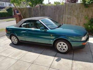 1993 Audi 2.3 Cabriolet, 78000 miles, VGC 12 Months MOT