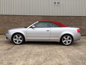 2004 AUDI A4 2.4 V6 Sport Convertible For Sale