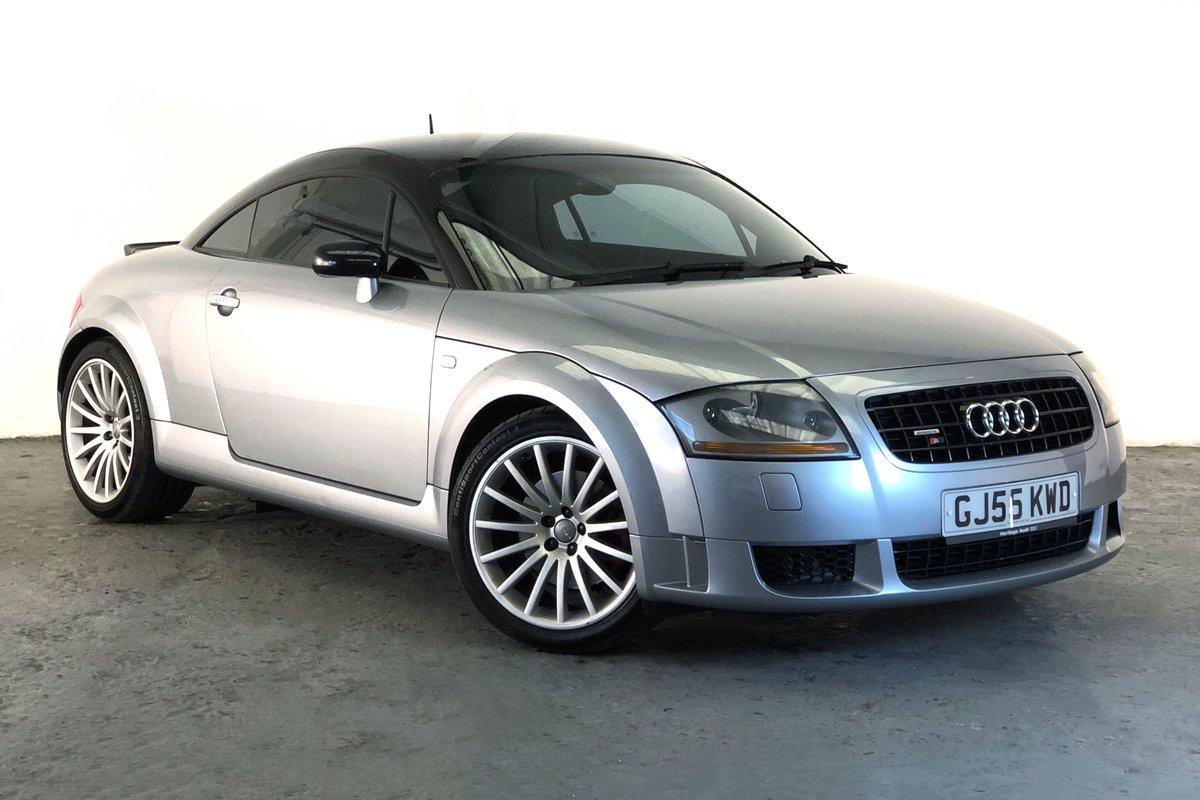 2005 Audi TT quattro Sport. Low mileage, full history SOLD (picture 1 of 6)