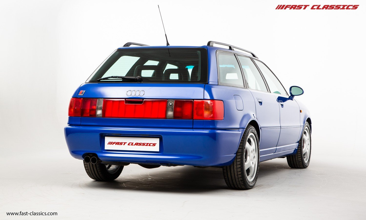1994 AUDI RS2 // NOGARO BLUE // LHD // GERMAN SUPPLIED For Sale (picture 3 of 6)