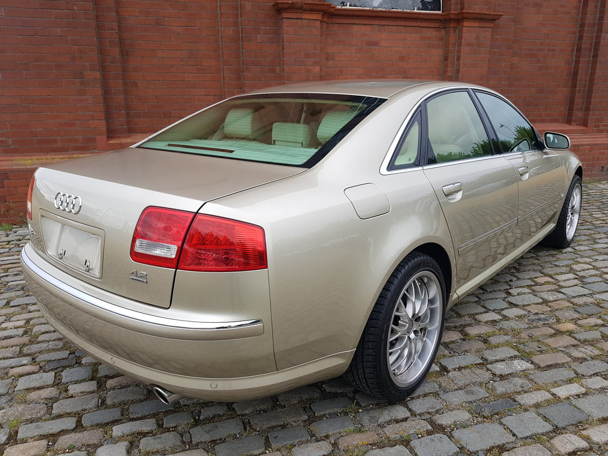 2004 AUDI A8 4.2 V8 QUATTRO 4 WHEEL DRIVE AUTOMATIC FRESH IMPORT For Sale (picture 2 of 2)