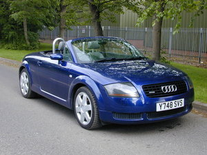 AUDI TT Mk1 225 QUATTRO CONVERTIBLE / ROADSTER - RHD UK CAR  For Sale
