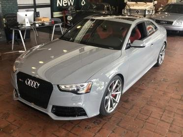 2015 Audi RS5 Sport Edition = Rare 1 of 75 made Grey $62.9k For Sale