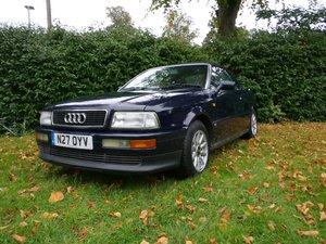 1995 Audi Cabriolet 2.6 V6 Manual, Blue, 6mo MOT For Sale