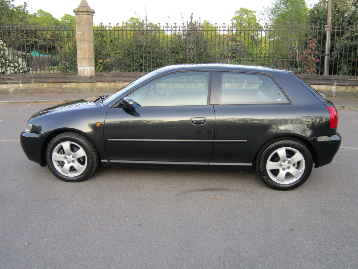 1998 Audi A3 1.8 Turbo Sport 20v Auto 3dr 1~owner~ For Sale (picture 1 of 6)