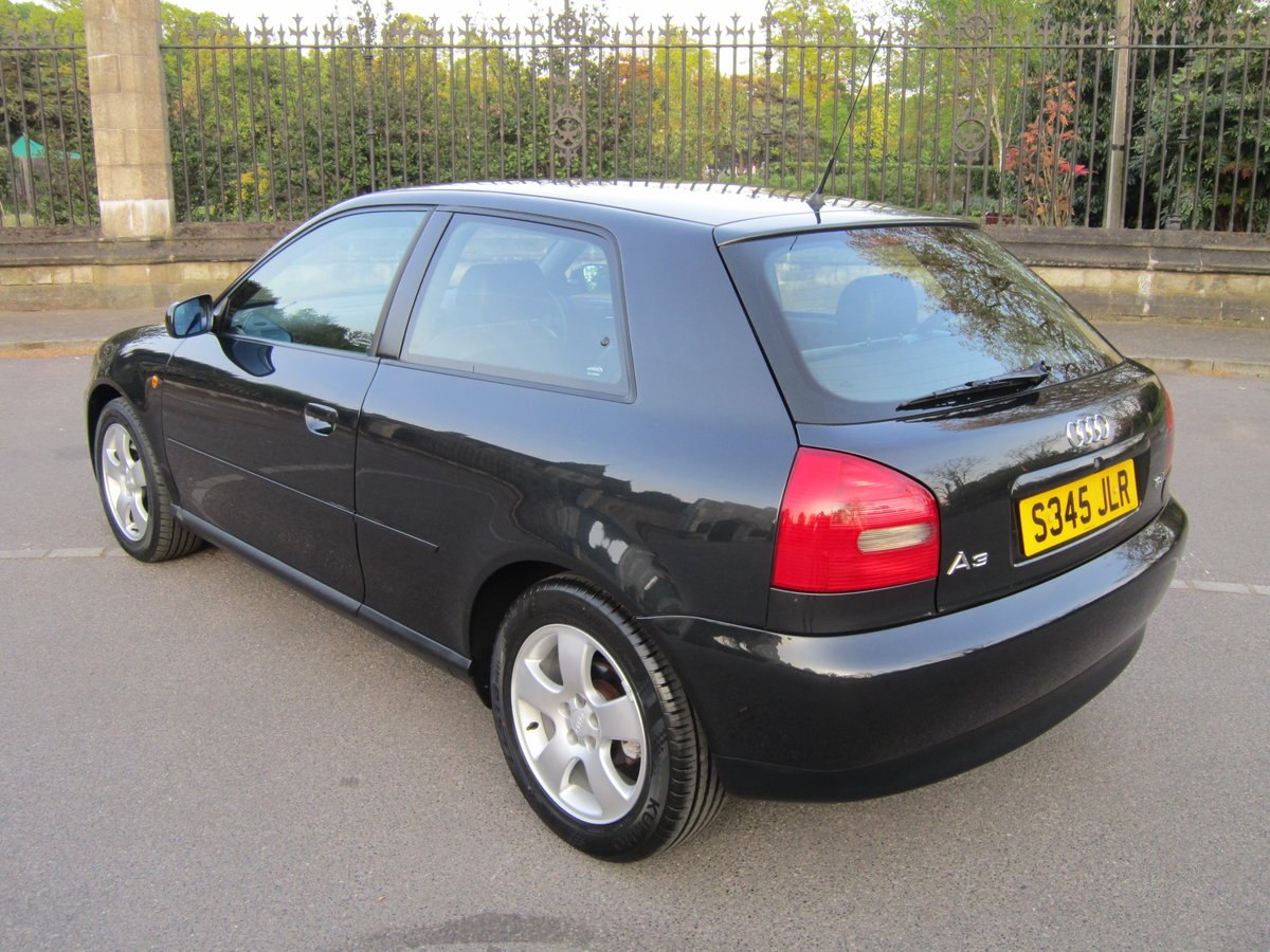1998 Audi A3 1.8 Turbo Sport 20v Auto 3dr 1~owner~ For Sale (picture 2 of 6)