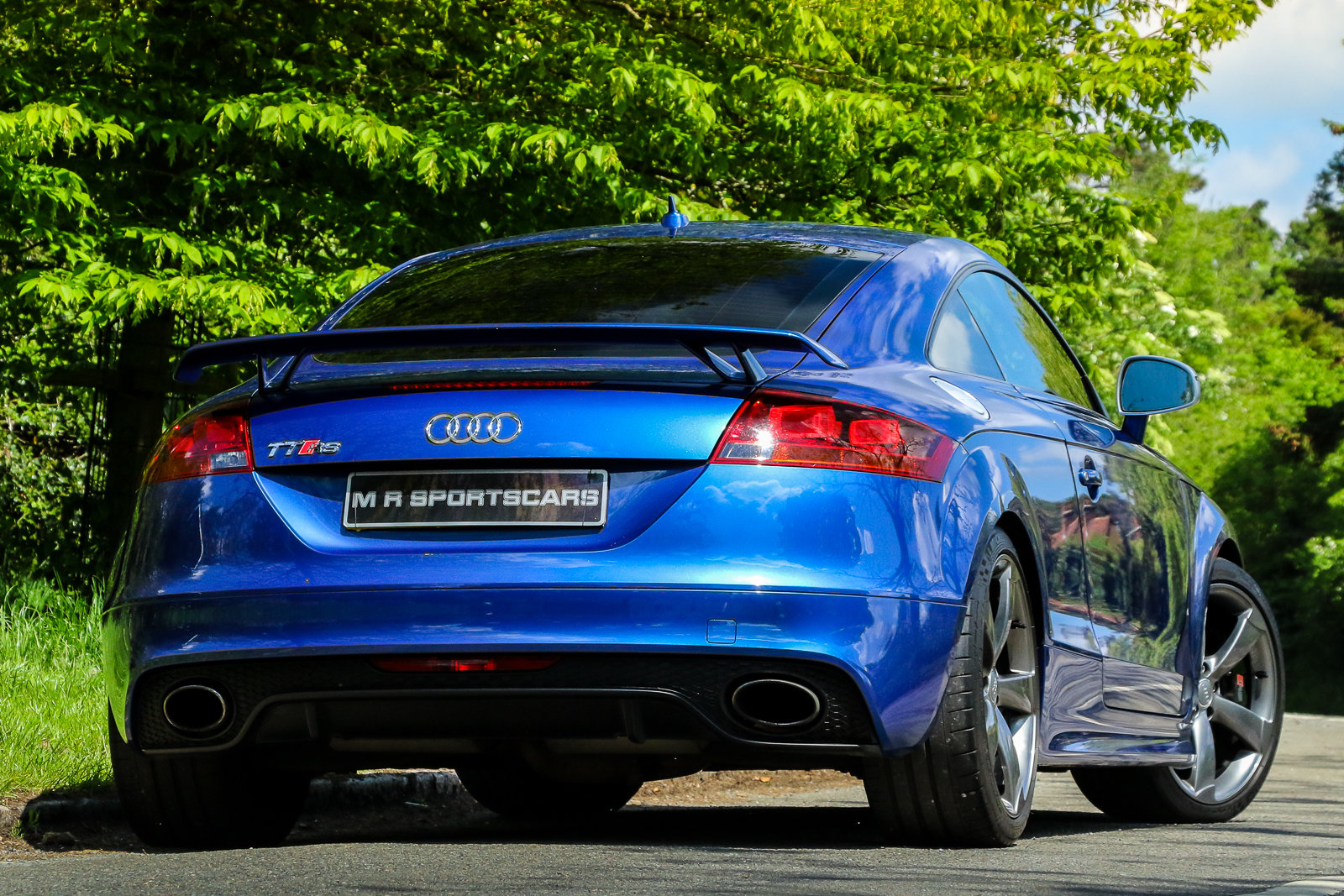 2009 Audi TTRS Sepang Blue Recaro Wingback Seats Manual For Sale (picture 2 of 6)