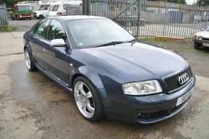 2002 AUDI S6 LOW MILES LEATHER RECAROS BOSE STAINLESS EXHAUSAUST For Sale