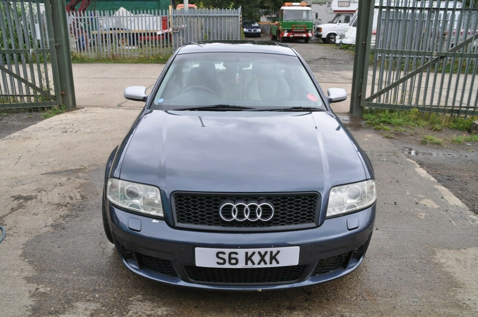 2002 AUDI S6 LOW MILES LEATHER RECAROS BOSE STAINLESS EXHAUSAUST For Sale (picture 2 of 6)