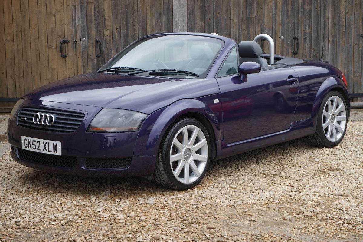 2002 AUDI TT 1.8T 225 BHP BAM QUATTRO For Sale (picture 1 of 6)