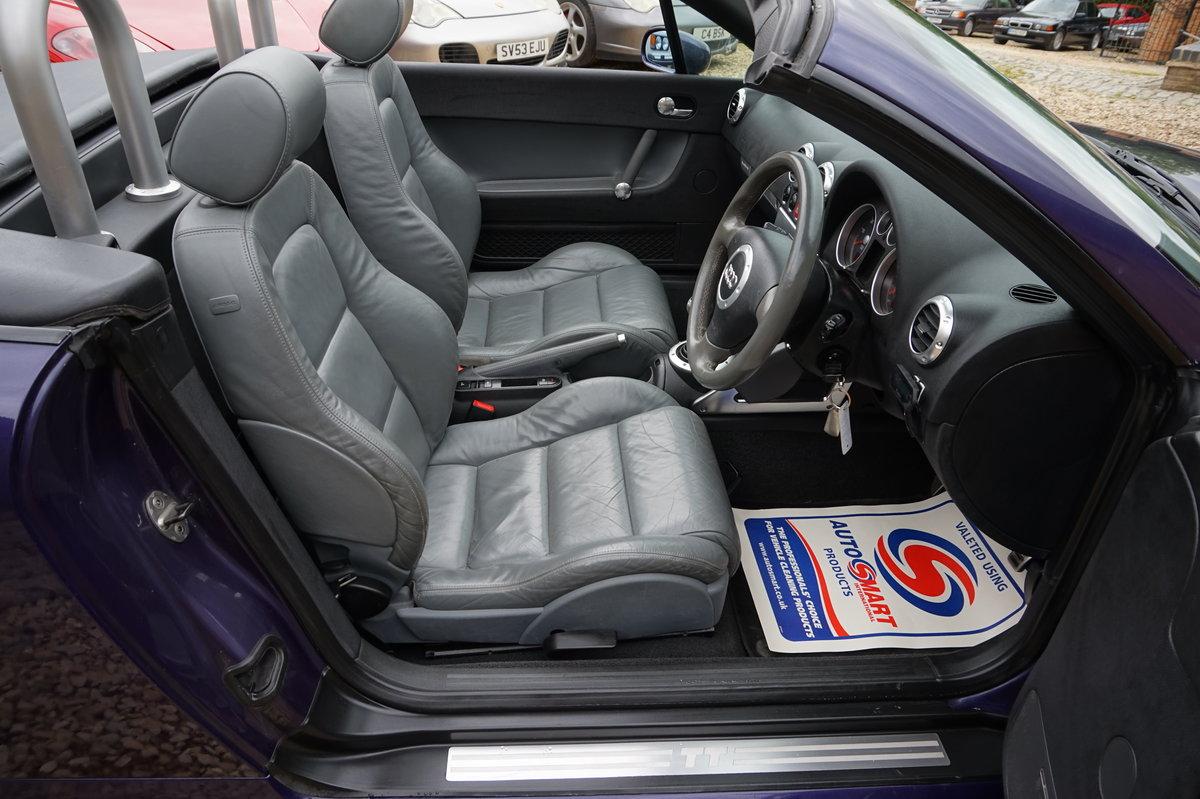 2002 AUDI TT 1.8T 225 BHP BAM QUATTRO For Sale (picture 2 of 6)
