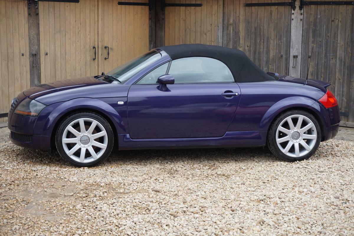 2002 AUDI TT 1.8T 225 BHP BAM QUATTRO For Sale (picture 3 of 6)