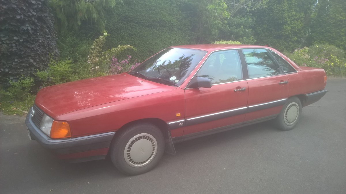 1988 Audi 100CC, 2.0 Engine, Manual Gearbox For Sale (picture 1 of 2)