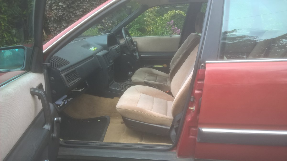 1988 Audi 100CC, 2.0 Engine, Manual Gearbox For Sale (picture 2 of 2)