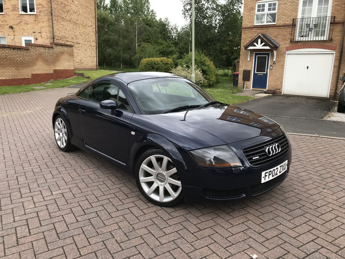 2002 Audi TT 180bhp*Quattro*3 P/Owners*Owned 6 Years*VGC* SOLD (picture 1 of 6)