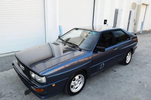 1983 Audi Ur-Quattro is a Euro-spec Recaros Euro RARE Rally For Sale (picture 2 of 6)