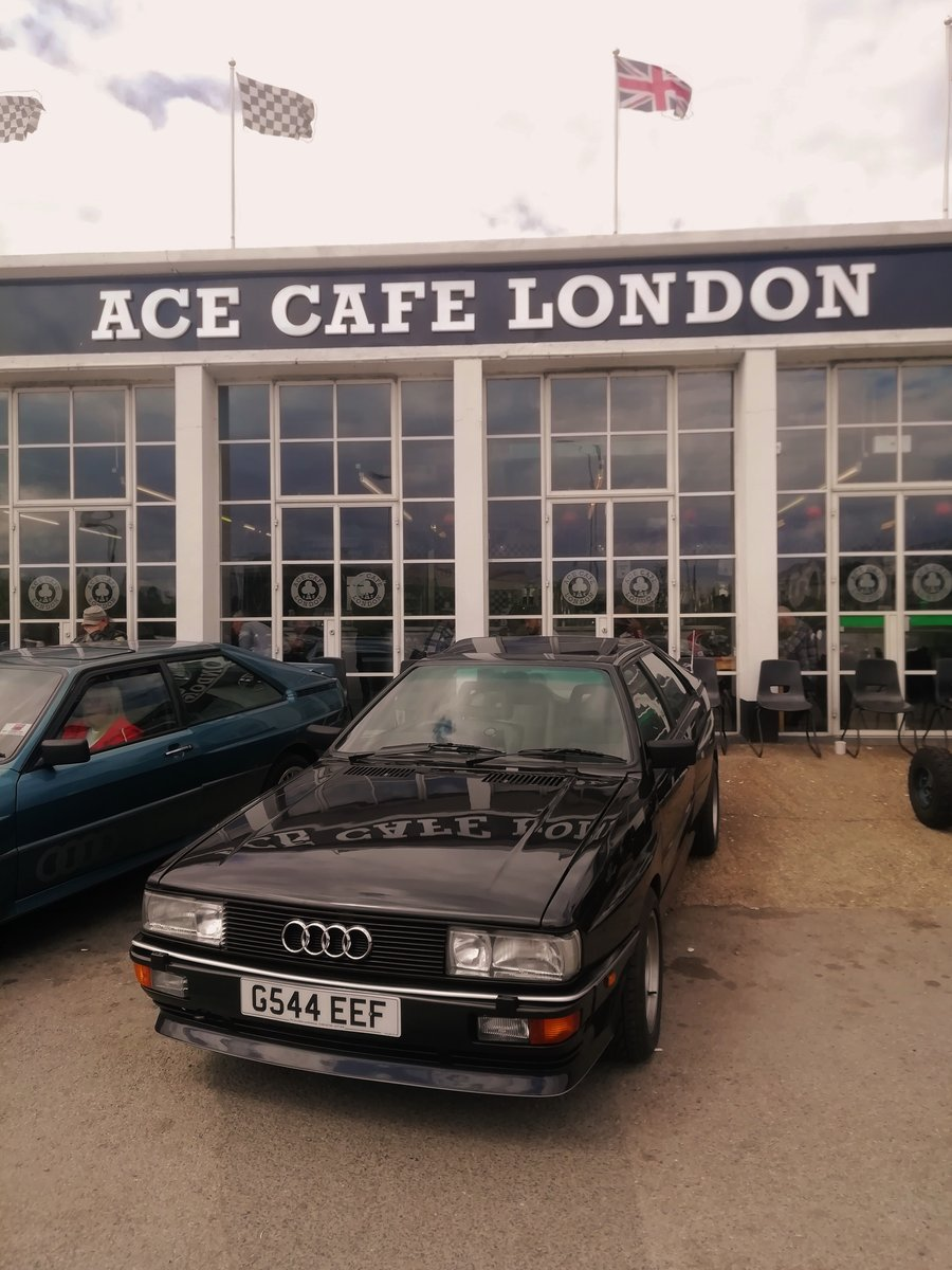 Rare  RR 20v ur quattro turbo panther Black 1990 For Sale (picture 1 of 6)