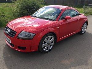 2003 Mk1 Audi TT 3.2 DSG Misano Red For Sale