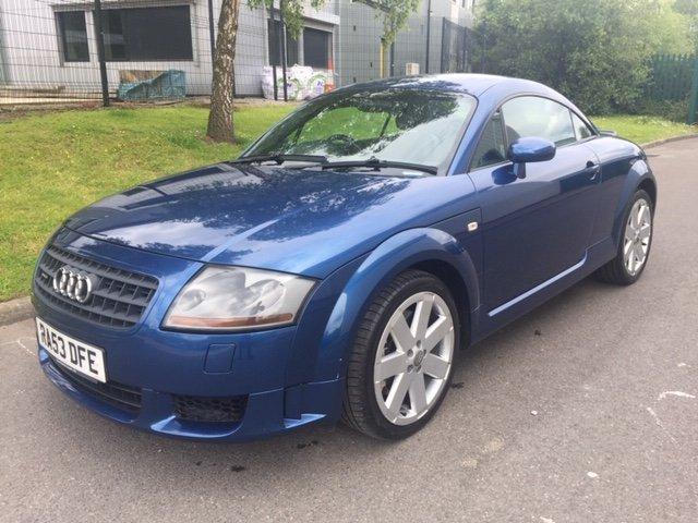 2003 Audi TT 3.2 V6 Quattro DSG Mauritius Blue For Sale (picture 1 of 6)