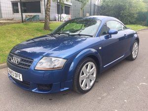 2003  Audi TT 3.2 V6 Quattro DSG Mauritius Blue