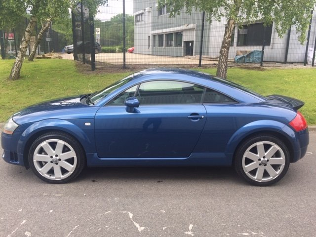 2003 Audi TT 3.2 V6 Quattro DSG Mauritius Blue For Sale (picture 2 of 6)