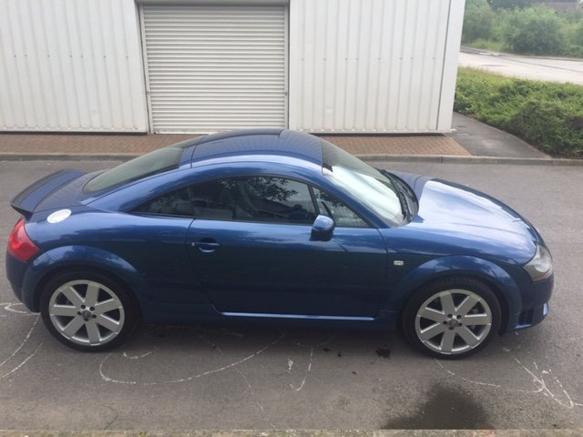 2003 Audi TT 3.2 V6 Quattro DSG Mauritius Blue For Sale (picture 4 of 6)