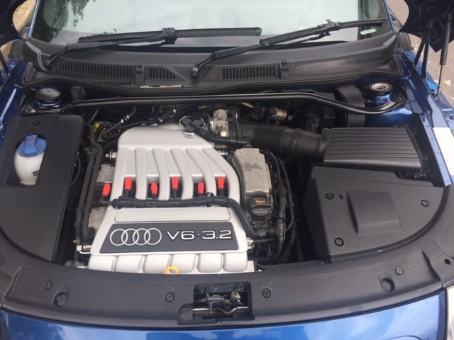 2003 Audi TT 3.2 V6 Quattro DSG Mauritius Blue For Sale (picture 6 of 6)