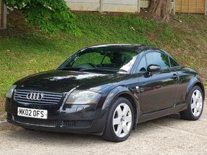 2002 AUDI TT 225 QUATTRO COUPE - BLACK ON BACK - BAM ENGINE - 225 For Sale