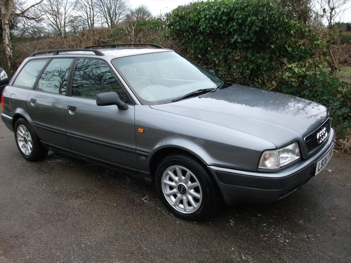 1994 Audi 80 Avant 1 9 Tdi Estate Sold