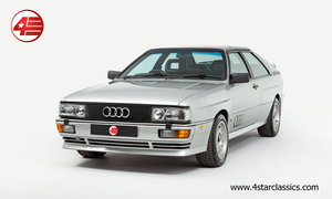 1990 Audi Ur Quattro RR 20v /// UK RHD /// 81k Miles For Sale