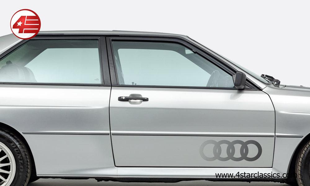 1990 Audi Ur Quattro RR 20v /// UK RHD /// 81k Miles For Sale (picture 2 of 6)