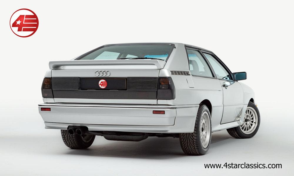 1990 Audi Ur Quattro RR 20v /// UK RHD /// 81k Miles For Sale (picture 3 of 6)