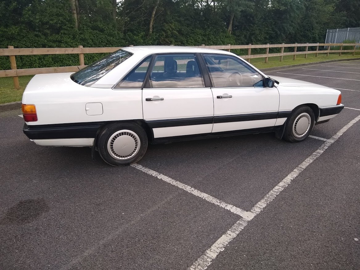 1985 Audi 100 For Auction Friday 12th July For Sale by Auction (picture 1 of 6)