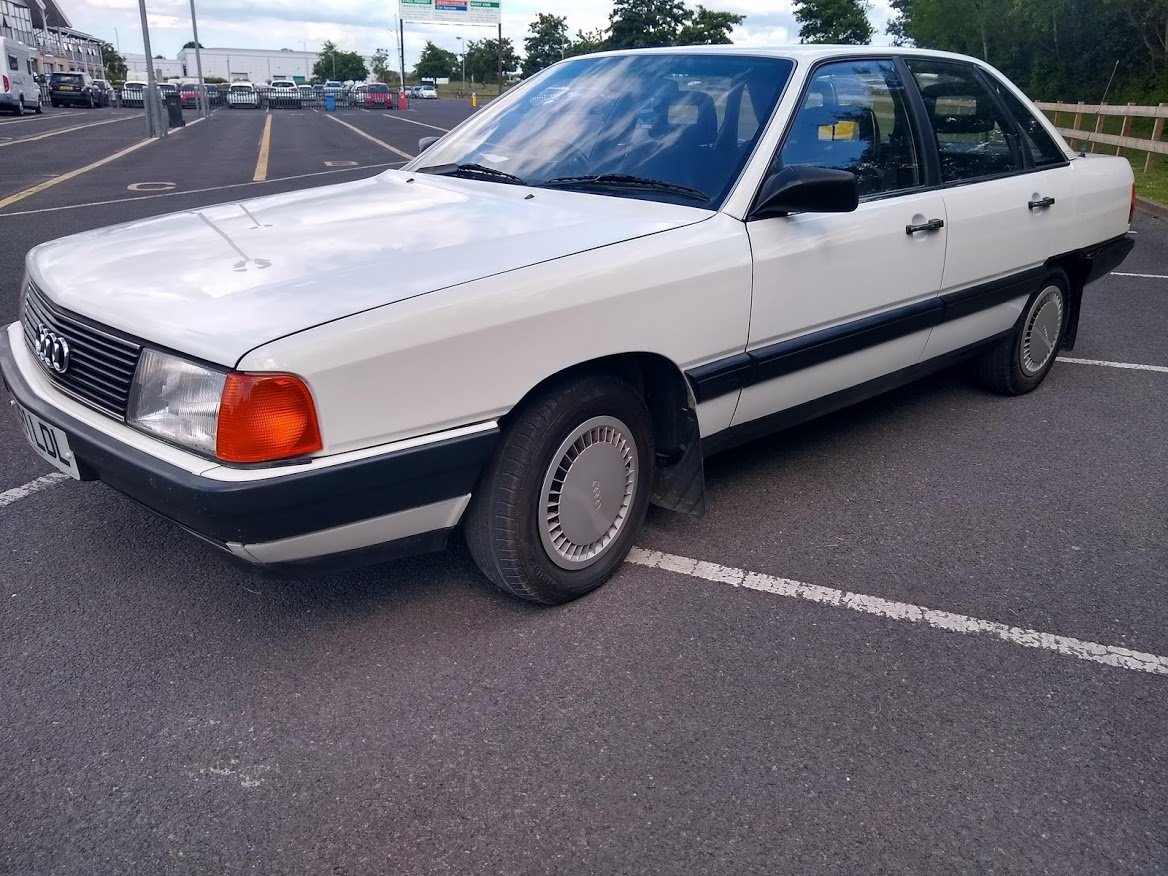 1985 Audi 100 For Auction Friday 12th July For Sale by Auction (picture 2 of 6)