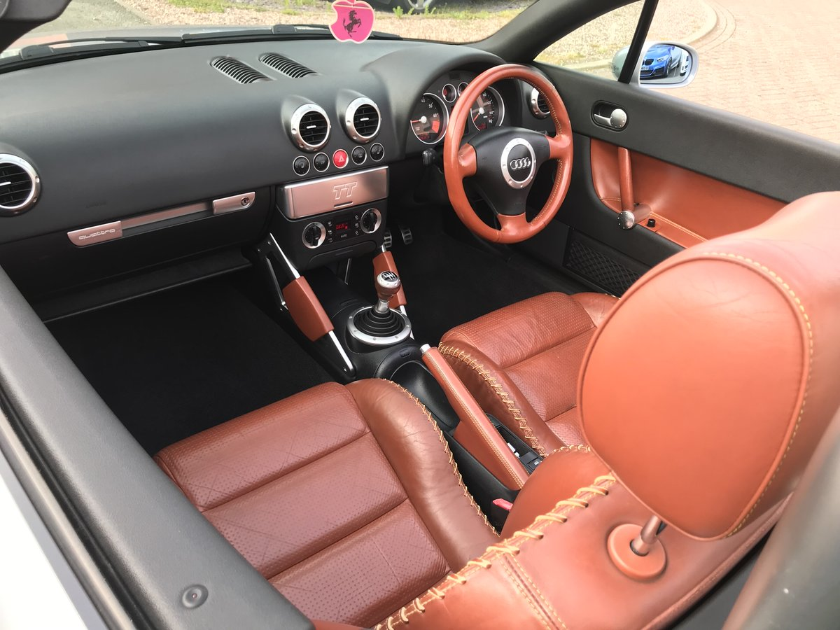 2000 Audi TT 225 bhp*Quattro*Rare Baseball Leather Model*100k*VGC SOLD (picture 1 of 6)