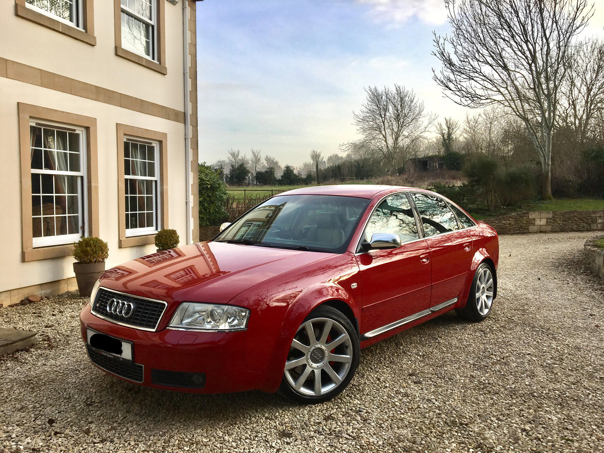 2003 Audi S6, 69800miles, Full VW/Audi service history For Sale (picture 1 of 6)