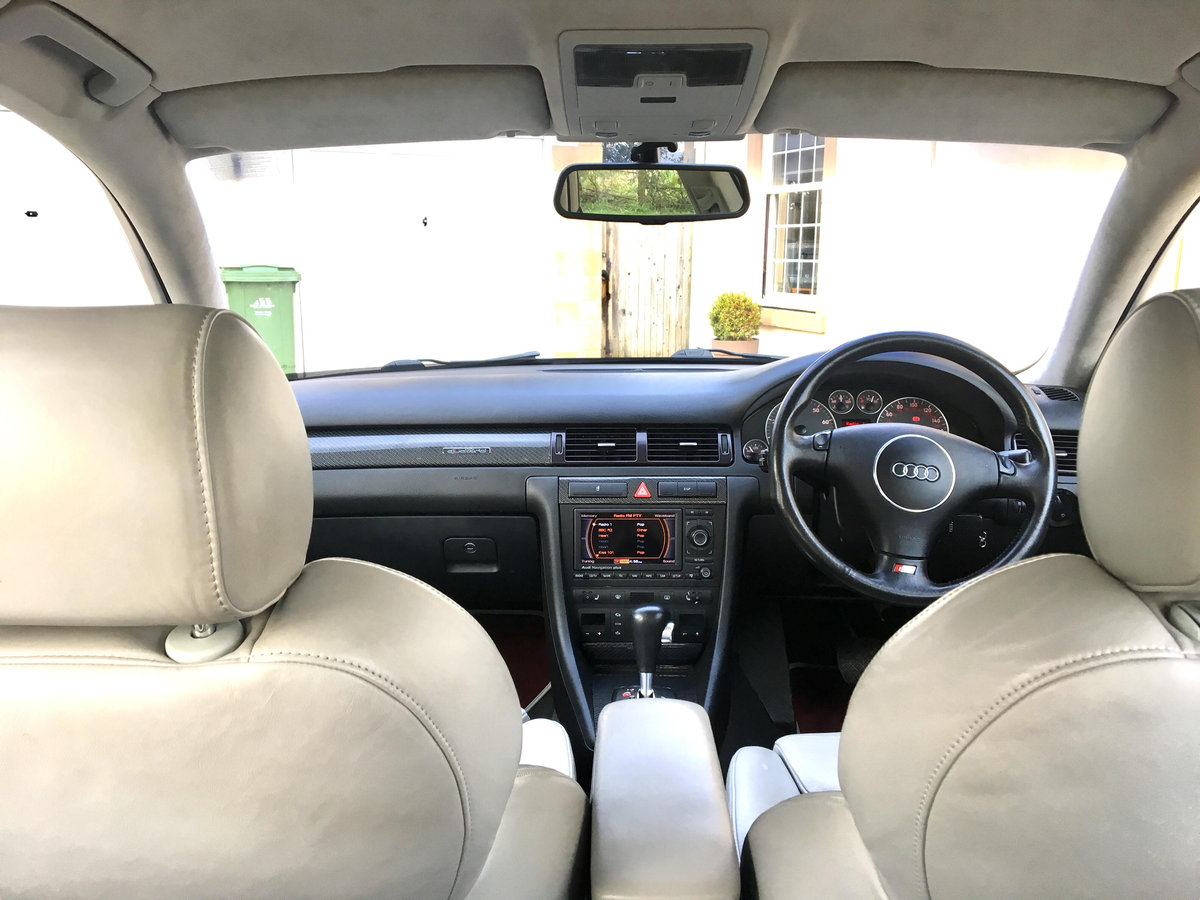 2003 Audi S6, 69800miles, Full VW/Audi service history For Sale (picture 5 of 6)